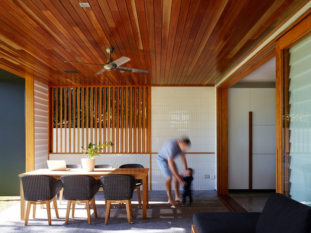 Contemporary Patio by Shaun Lockyer Architects