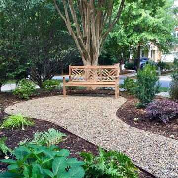 Postage Stamp Front Yard/ Backyard Creek Bed