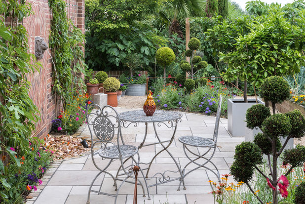 Traditional Patio by Adam Vetere Landscape and Garden Design