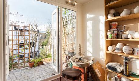 Studiobesuch: Ein helles Töpfer-Atelier in London