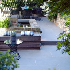 Modern Patio by Secret Gardens