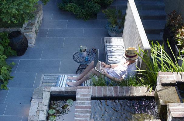 Modern Patio by Secret Gardens
