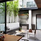 Chambers St Contemporary Patio Melbourne By Mim Design