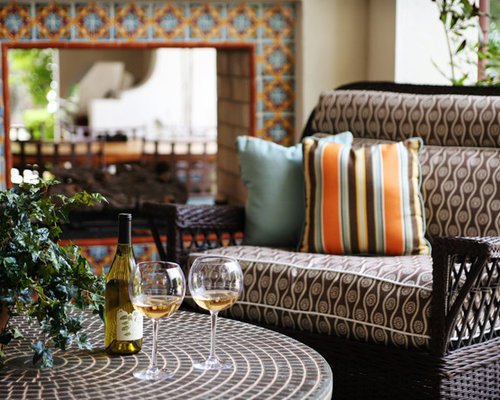 Moroccan Tile Fireplace Houzz