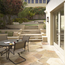 Mediterranean Patio by Gast Architects