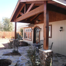 Traditional Patio by G & L Restoration