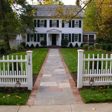 Traditional Patio by Environmental Landscape Associates