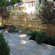 Traditional Patio by Nilsen Landscape Design, LLC