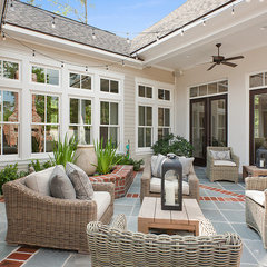 traditional patio by Highland Homes, Inc.