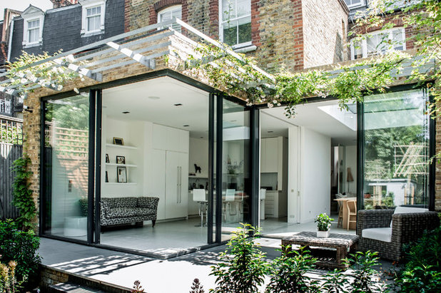 Contemporain Terrasse et Patio by Charles Barclay Architects
