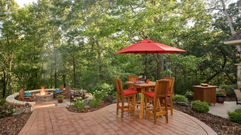 Private Outdoor Dining and Fire Pit