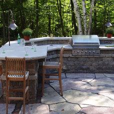 Traditional Patio by Breckenridge Design, Construction & Maintenance