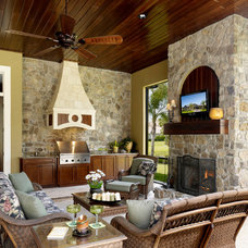 Traditional Patio by Niemann Interiors