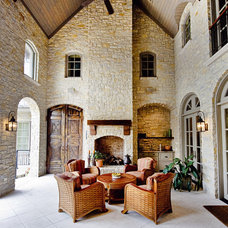 Traditional Patio by Fusch Architects, Inc.