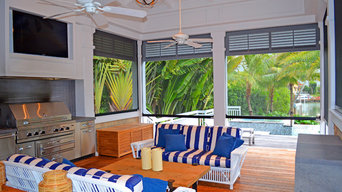 Private Residence Lanai with Summer Kitchen