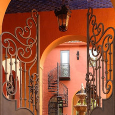 Mediterranean Patio by Toledo Iron Works