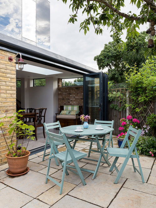 Shabby Chic Style Back Garden and Outdoor Back Design