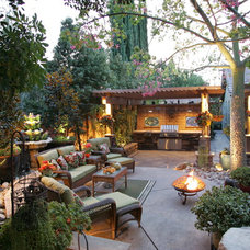 Traditional Patio by STB Landscape Architects, Inc.