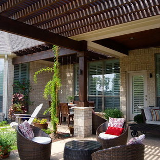 Pergola On Patio Houzz