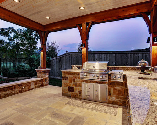 Rustic patio design ideas renovations photos with tiled for Rustic floors of texas