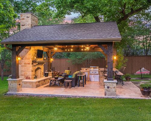 Ideas para patios dise os de patios r sticos con suelo for Suelos patios rusticos
