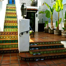 Mediterranean Patio by Talavera & Ceramic Tile Studio