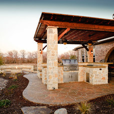 Traditional Patio by Dallas Outdoor Kitchens & Hardscape