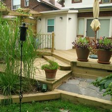 Traditional Patio by WG Contracting