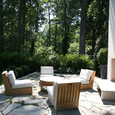 Modern Patio by Castro Design Studio