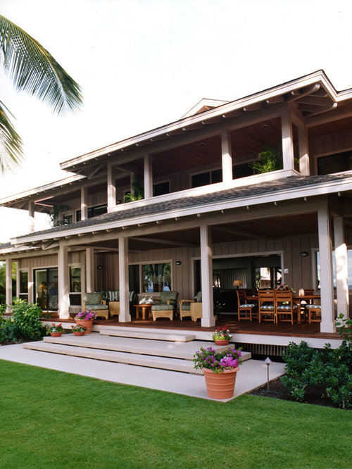 Houzz Covered Lanai Design Ideas Remodel Pictures