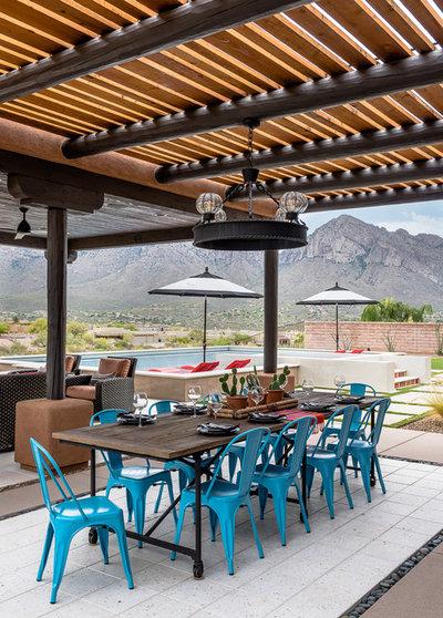 Best Southwestern Patio by Prideaux Design