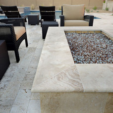 Contemporary Patio by Quarries Direct International, LLC