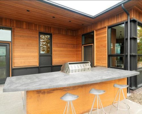 Outdoor Concrete Countertops Houzz