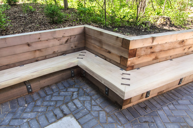 Modern Outdoor Stools And Benches by Wood Anchor