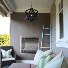 Traditional Patio by Richardson Homes Ltd