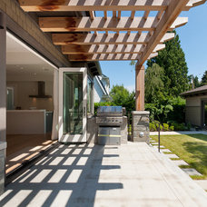 Contemporary Patio by Peter Rose Architecture and Interiors