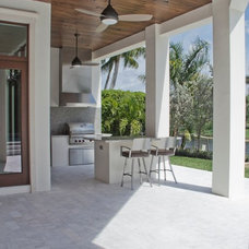 Mediterranean Patio by Hollub Homes