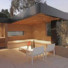 Contemporary Patio by Bowery Construction
