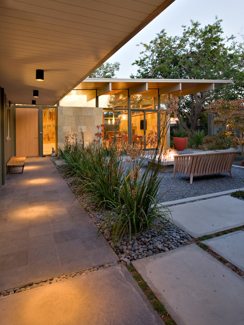 Midcentury Patio Design Ideas, Remodels & Photos | Houzz on Mid Century Modern Patio Ideas id=38702