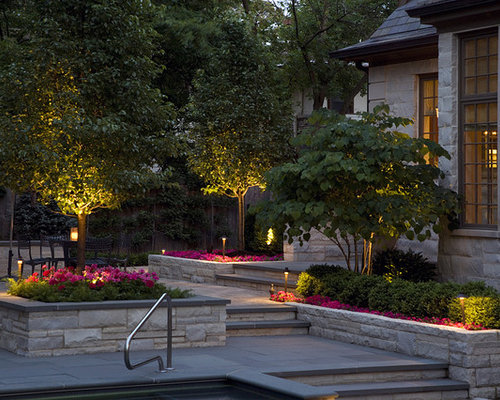 Flower Bed Lighting Home Design Ideas Pictures Remodel