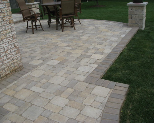 Paver Edging Home Design Ideas Pictures Remodel And Decor