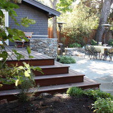 Traditional Patio by helena barrios vincent aia leed ap