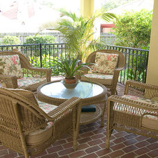 Mediterranean Patio by Ramos Design Build Corporation - Tampa