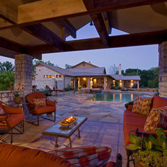 traditional patio by Linda McCalla Interiors