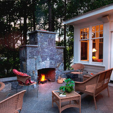 traditional patio by Cummings Architects