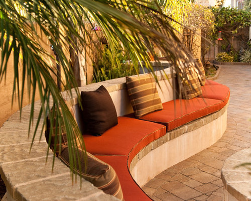 Tuscan Patio Photo In San Diego With Concrete Pavers
