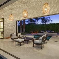 Modern Patio by Martin Kobus Home