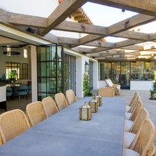 Mediterranean Dining Room by Riviera Bronze Mfg.