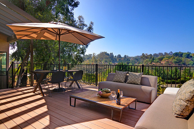 Contemporary Patio by Shaw Coates