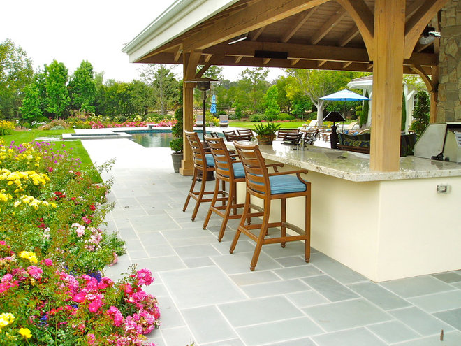 Traditional Patio by The Design Build Company